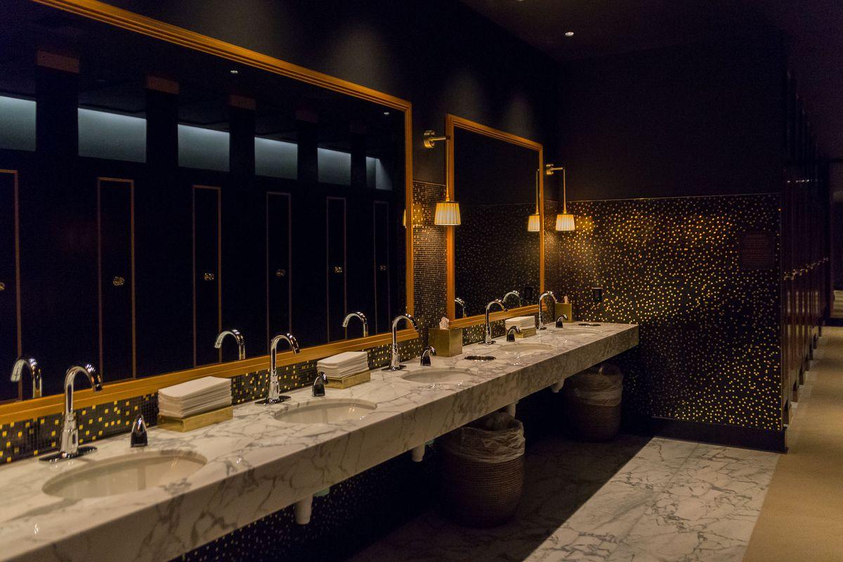 The bathroom at NoMad Restaurant