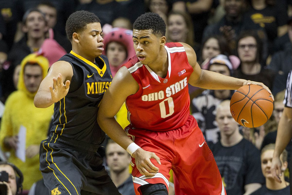 D'Angelo Russell (0) will have to play consistently well against Michigan's defense