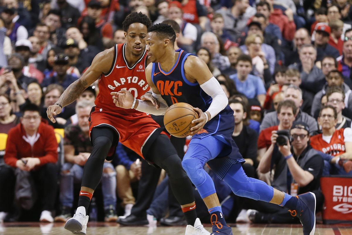 Thunder vs Raptors, final score: MVP Westbrook pushes OKC ...