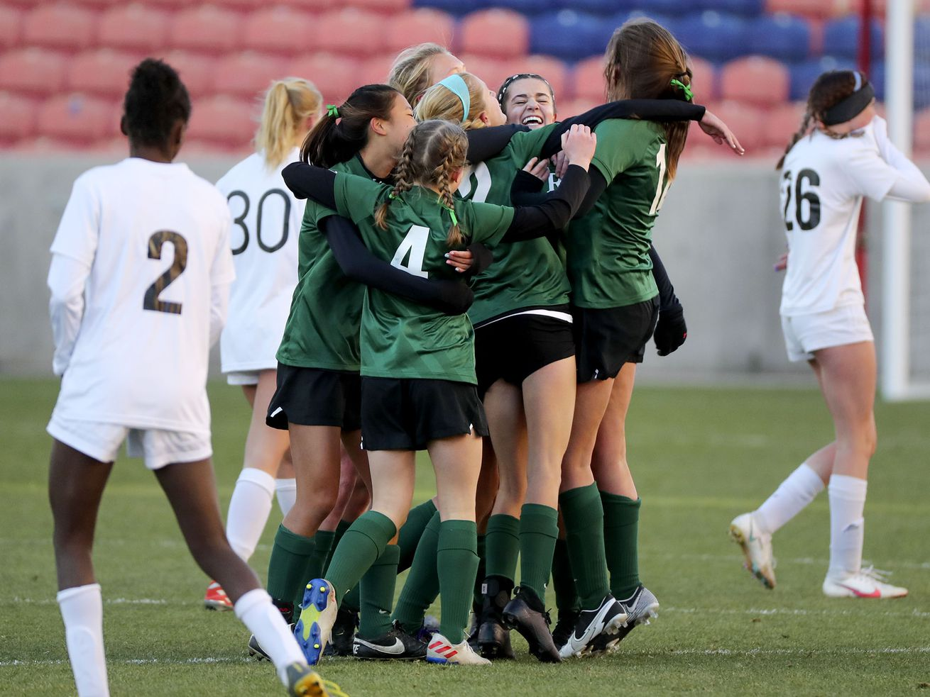 High school girls soccer: Rowland Hall captures fourth straight 2A title with flurry of second-half goals