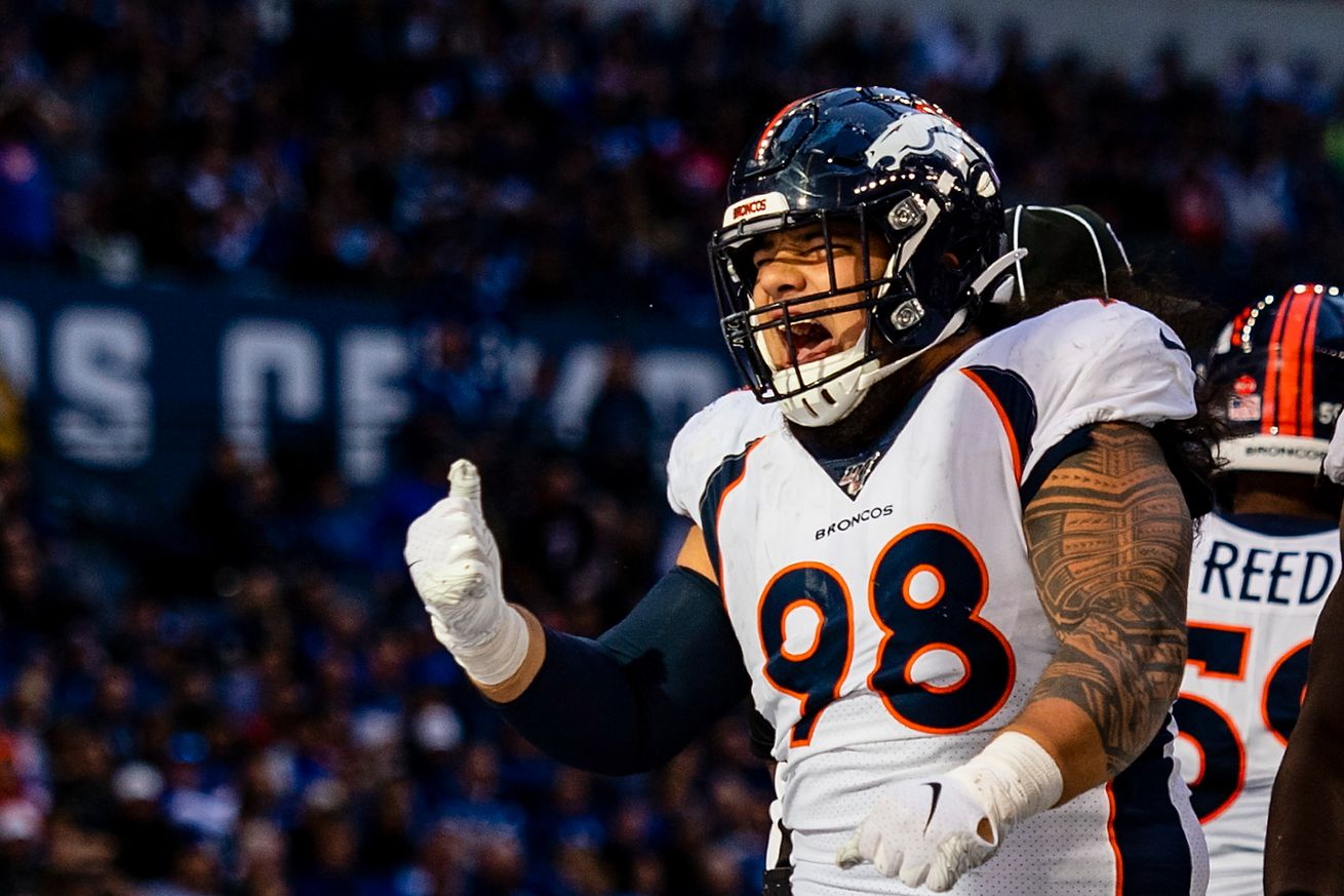 Mike Purcell - the man in the middle - is the difference in this Broncos' defense