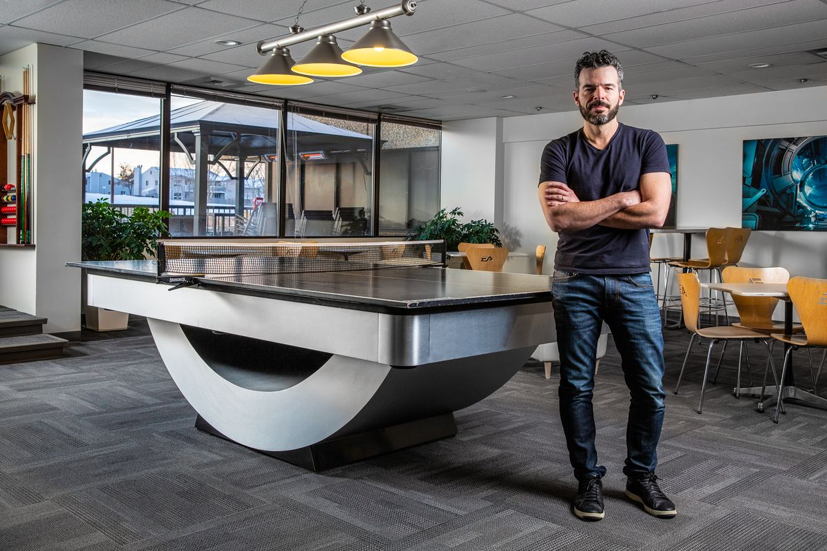 photo of BioWare's Casey Hudson