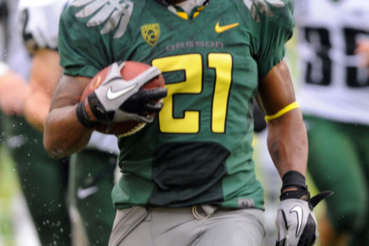 LaMichael James is really fast. Click through for more pictures from the PSU game.