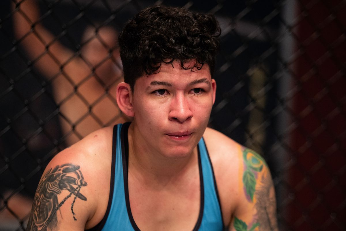 Larissa Pacheco missed weight for her bout against Taylor Guardado.