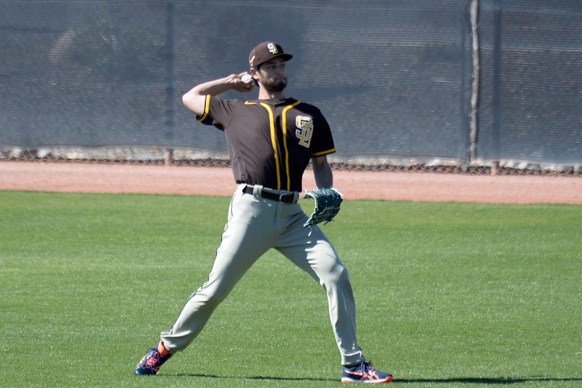 MLB: San Diego Padres-Workouts