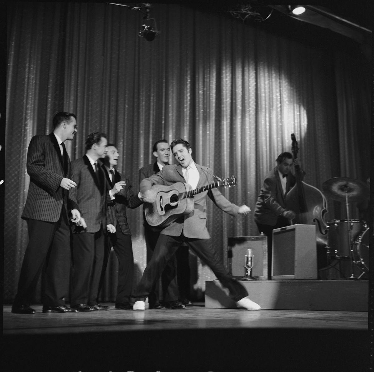Elvis on Ed Sullivan show