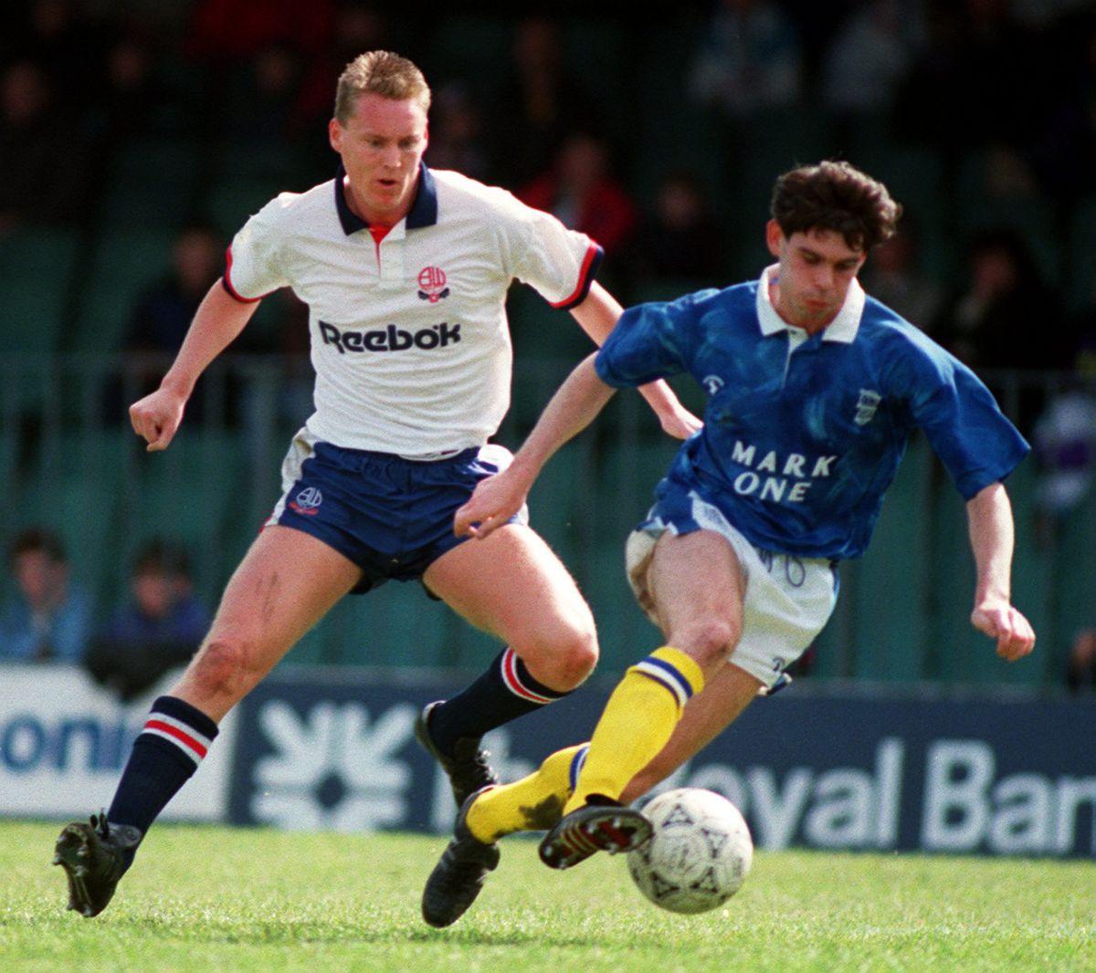 Soccer - Barclays League Division Three - Bolton Wanderers v Birmingham City - Burnden Park
