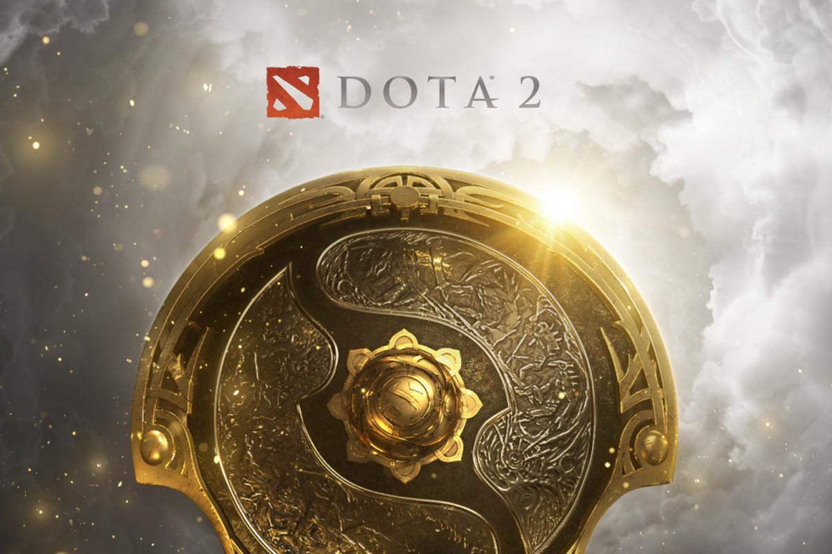 Valve's logo for Dota 2's The International 10 tournament