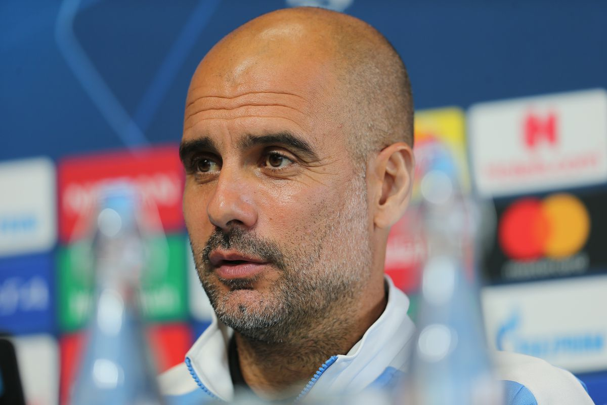 Manchester City Press Conference and Training Session