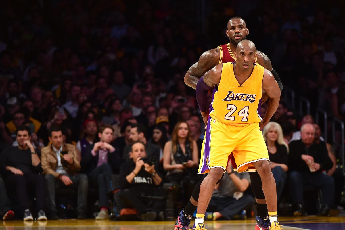 c9aeed2bb8f LeBron James thinks it s  unfair  for Lakers fans to compare him to Kobe  Bryant