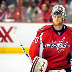 Holtby Closes Eyes