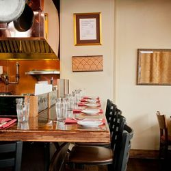 """Chef Gabriel Rucker's East Burnside dining room is best described as """"intimate,"""" with just three communal tables, but it's the restaurant's 10-seat chef's counter that's considered an iconic Portland dining spot. In a city full of open kitchens, a seat at"""