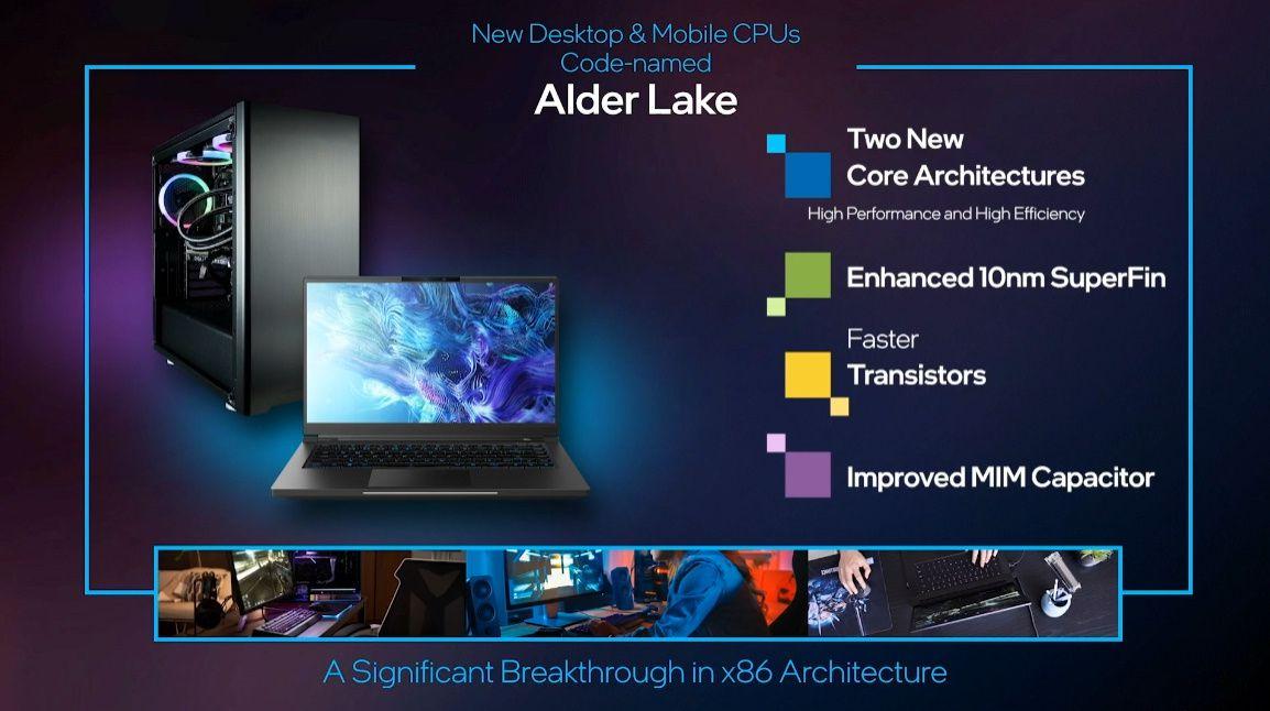 Intel 12th gen chips