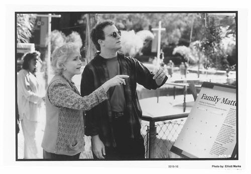"""Debbie Reynolds and Albert Brooks in """"Mother."""" 