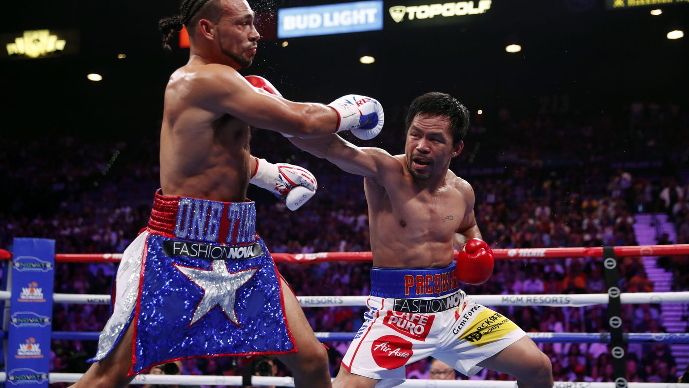 Watch Manny Pacquiao vs. Keith Thurman full fight video highlights - FOX PPV