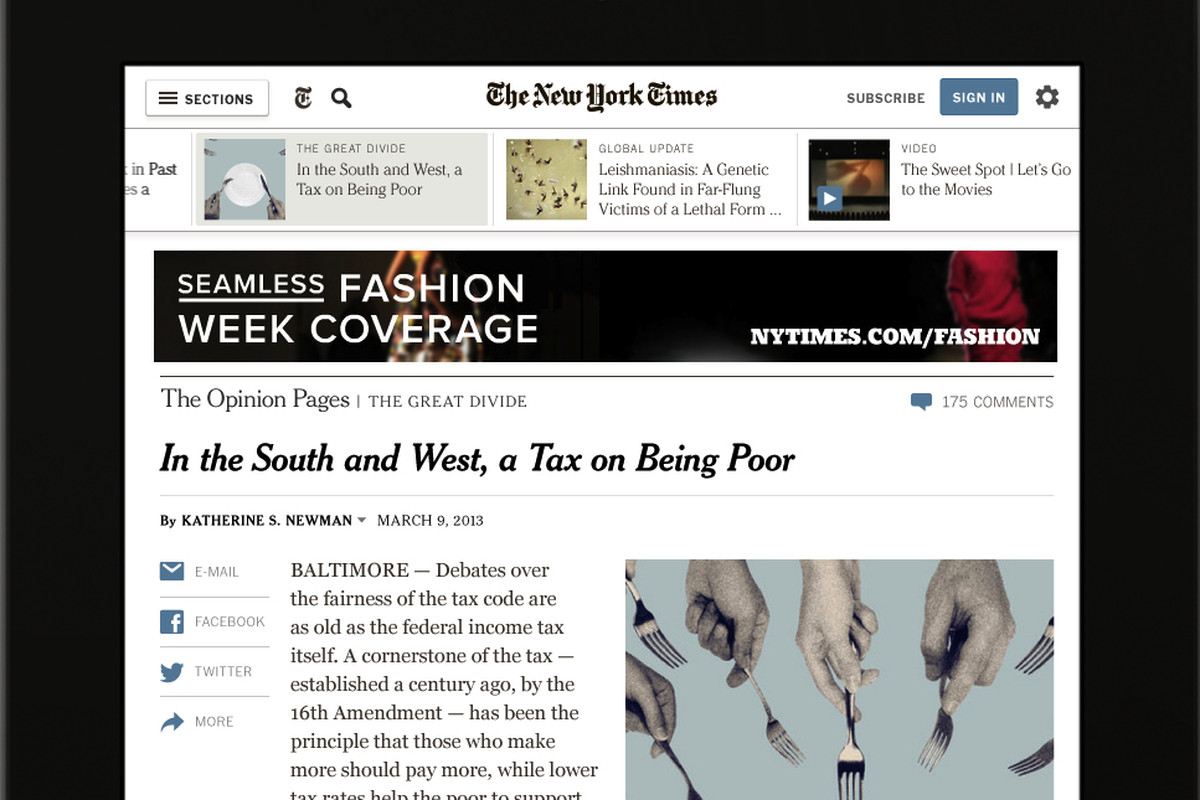 'New York Times' Tightens Metered Paywall