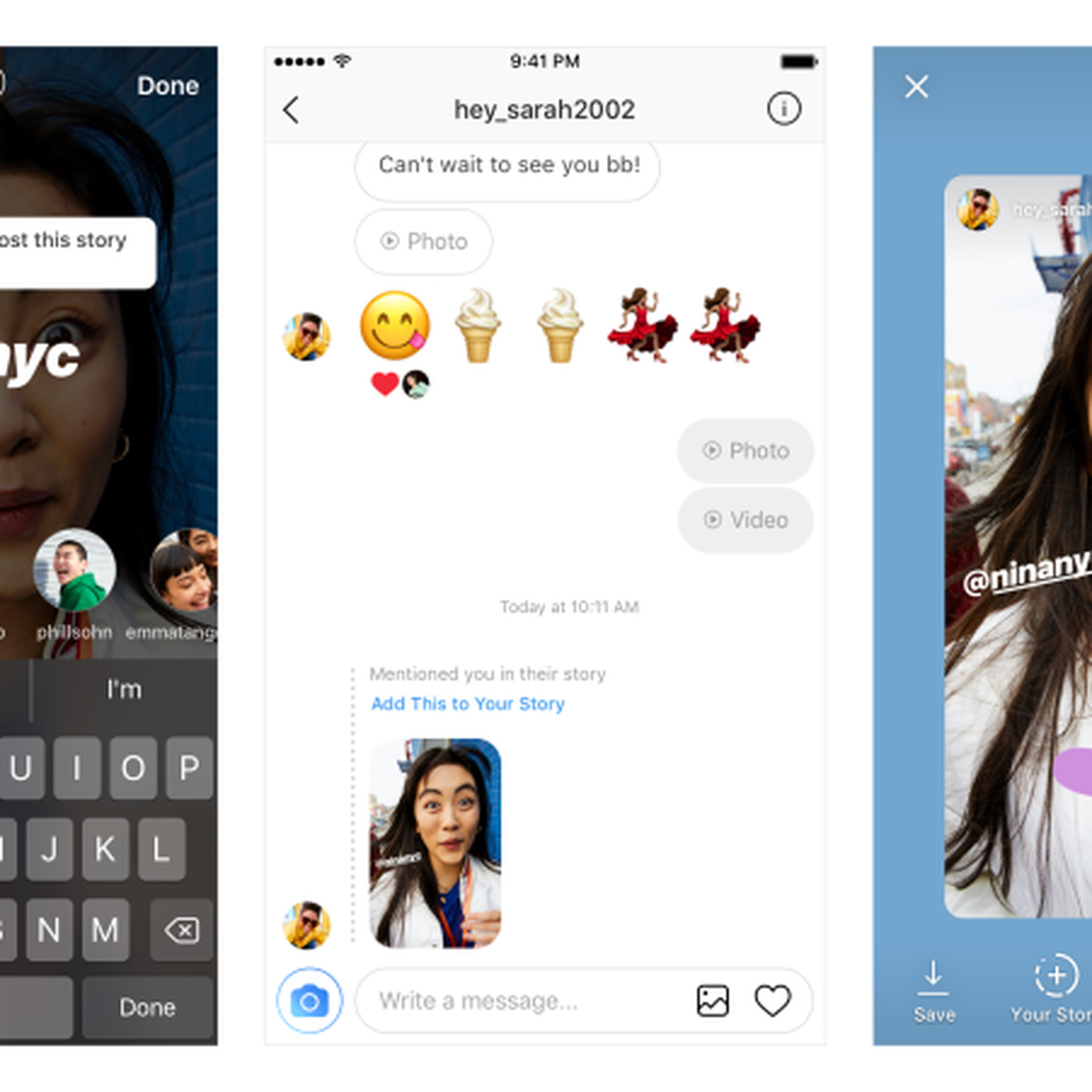 Instagram now lets you instantly repost stories you're