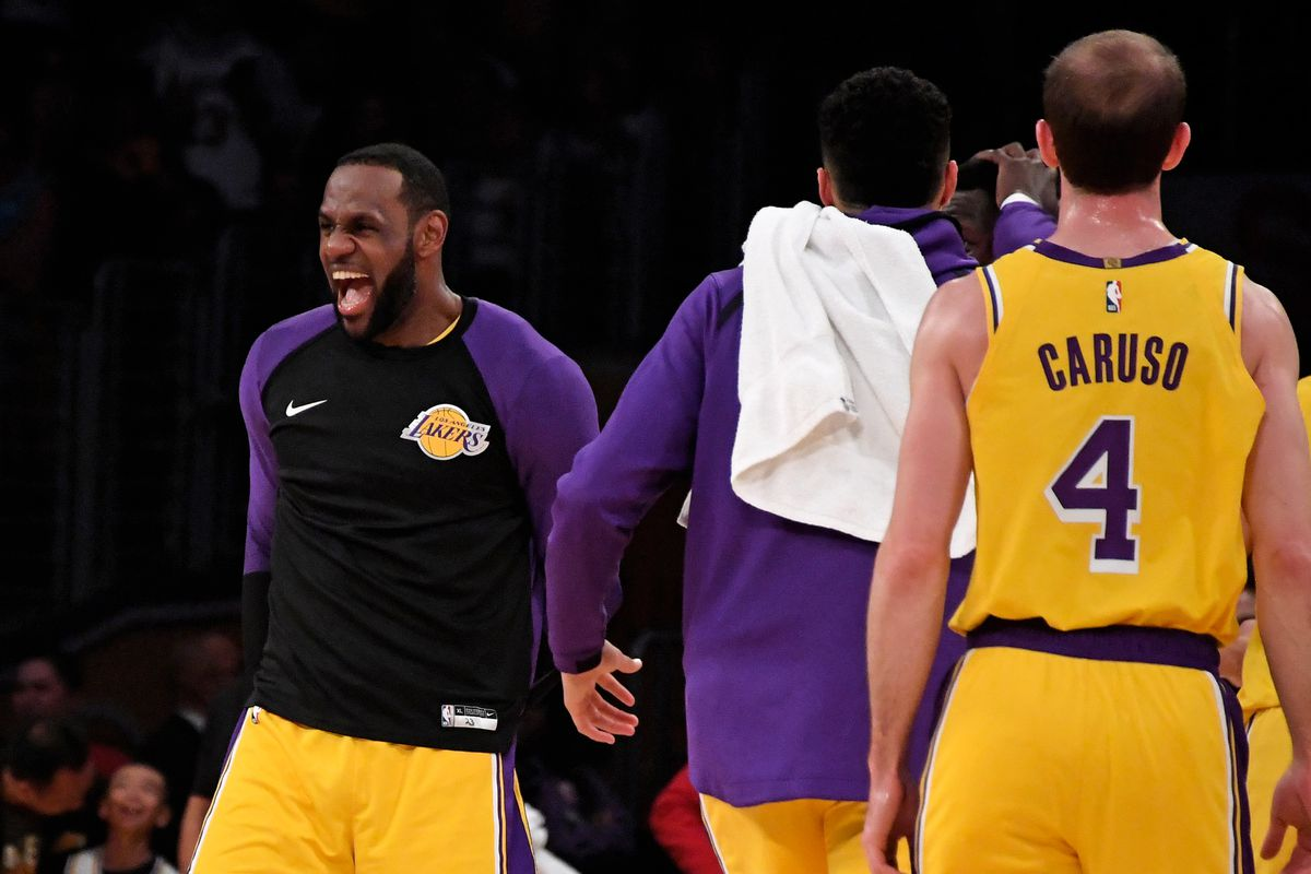 e82a8f3977d5 Kirby Lee-USA TODAY Sports. Tuesday night s matchup between the Los Angeles  Lakers and Washington Wizards ...
