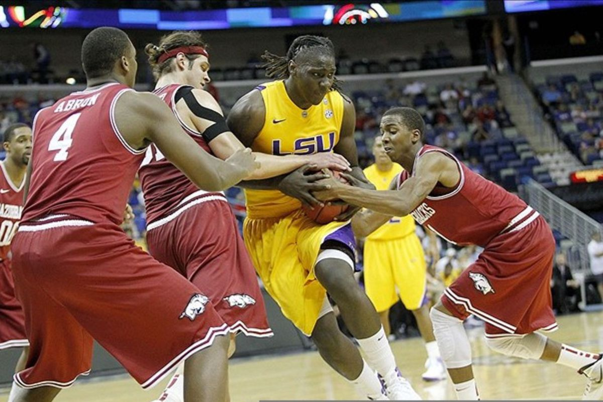 Johnny O'Bryant will be a key player for LSU in the paint