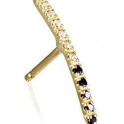 "Hirotaka ""Half/Half"" diamond earring, <a href=""http://otteny.com/shop/jewelry/earrings/half-half-gossamer-diamond-earring.html"">$253</a> (sold individually) at Otte"