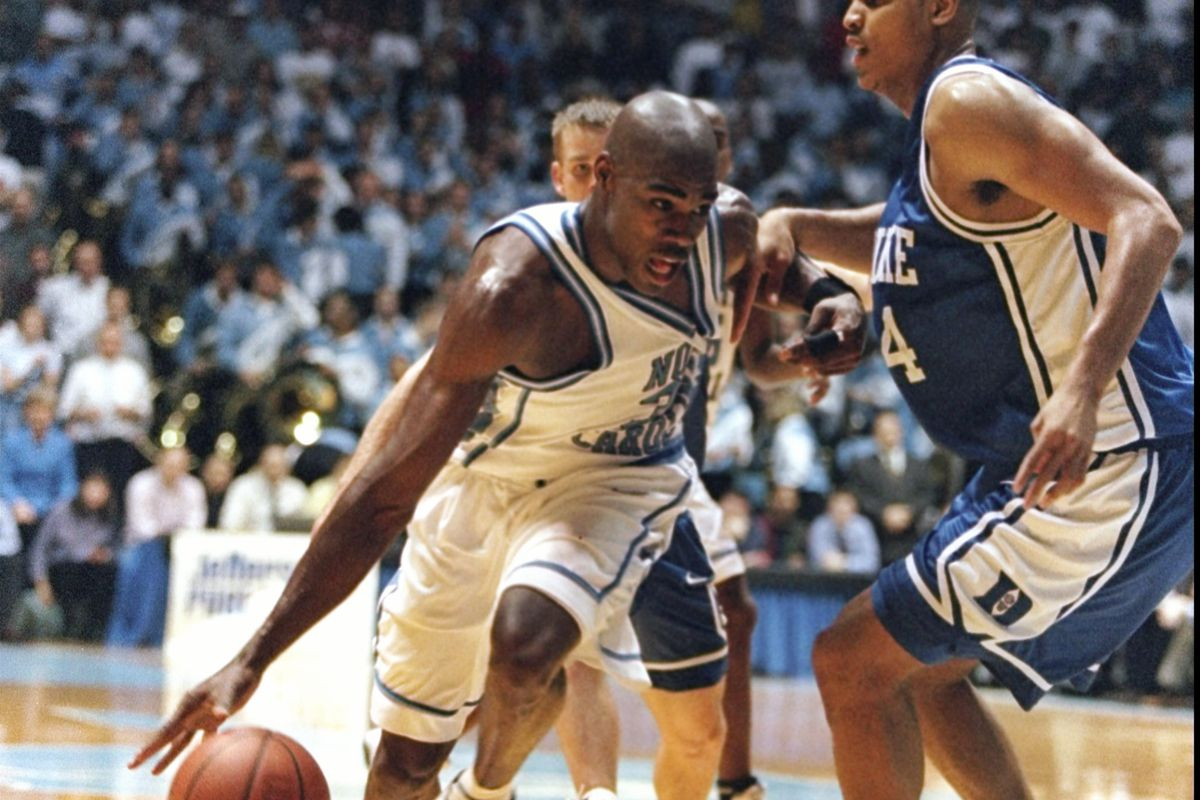 c829615b16f The 25 Greatest Games in UNC Basketball History: #23 - Jamison and Co.  crush #1 Duke in 1998