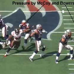 Pressure gets to Brady