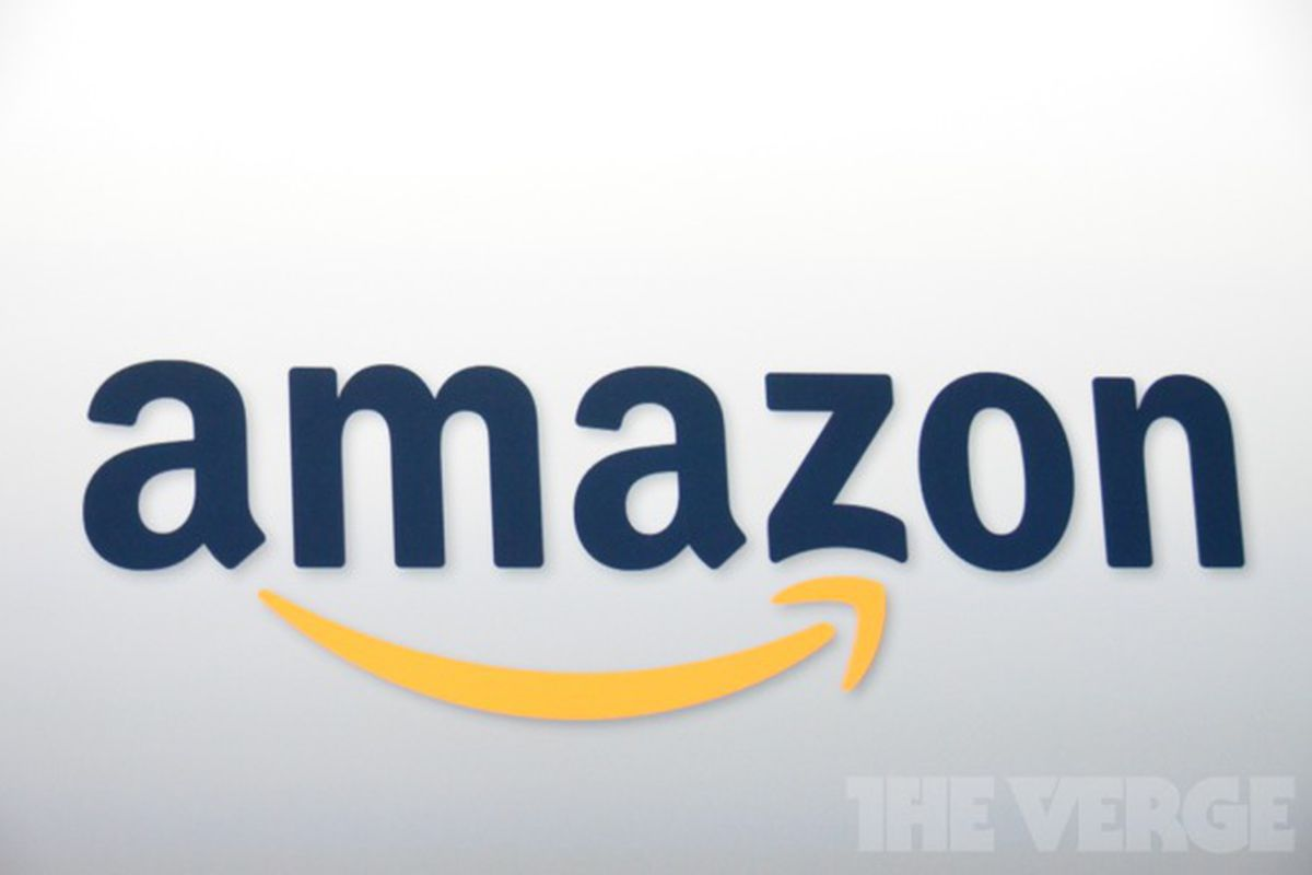 Amazon logo stock