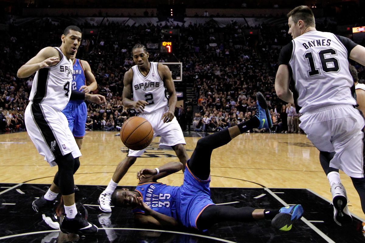 Kevin Durant played well, but it wasn't enough.