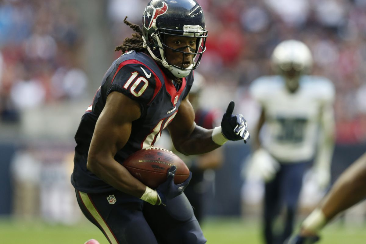 DeAndre Hopkins is the Houston Texans next great receiver