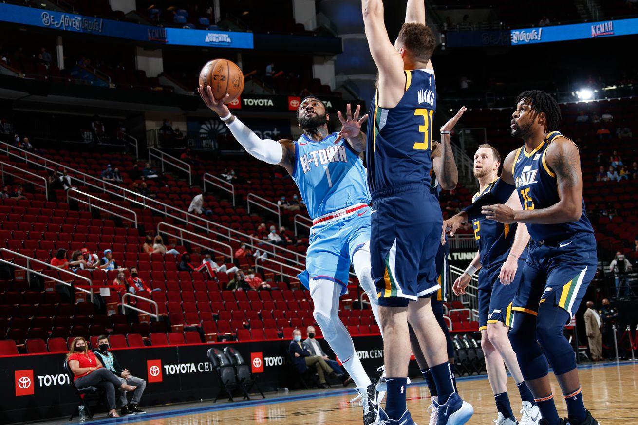Utah Jazz v Houston Rockets