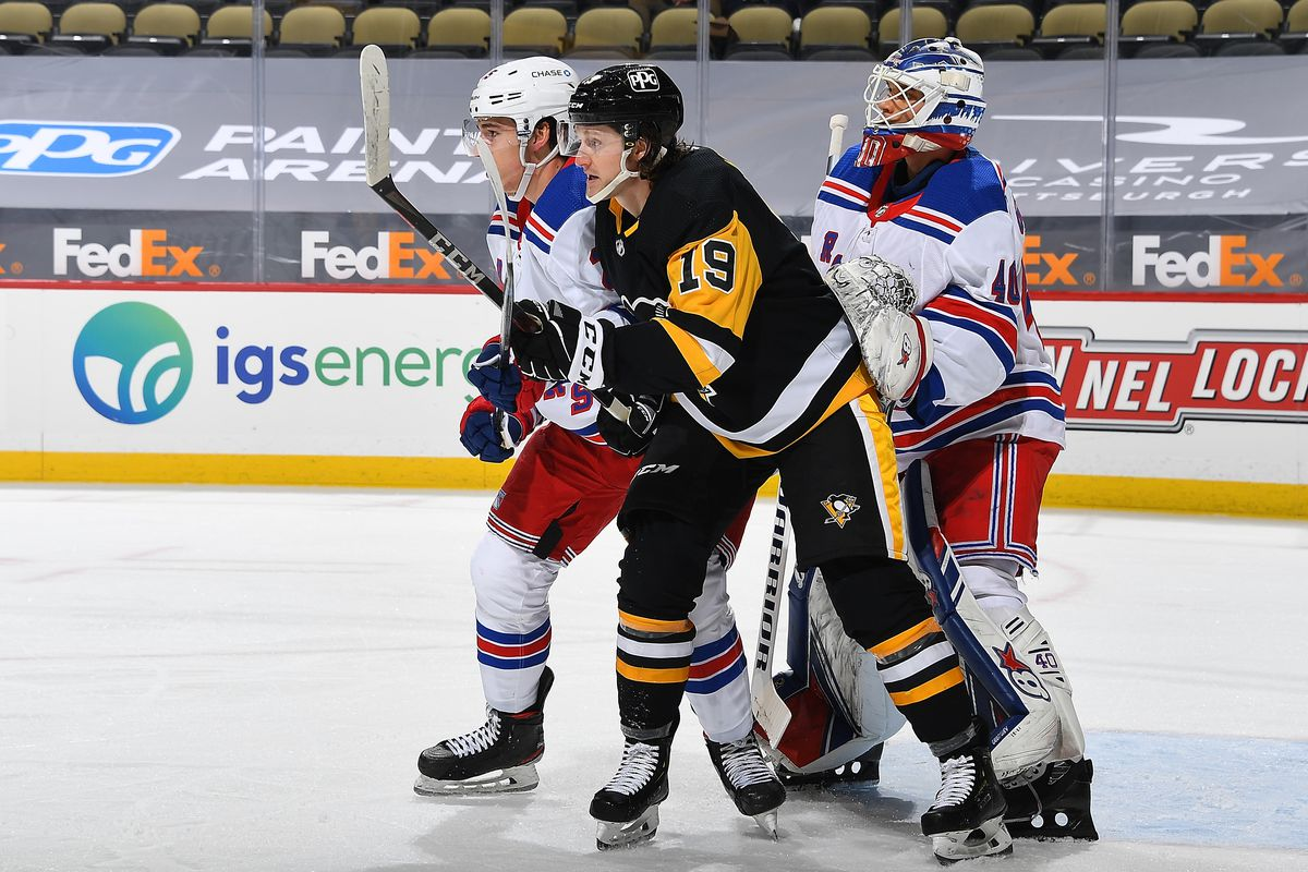 New York Rangers v Pittsburgh Penguins