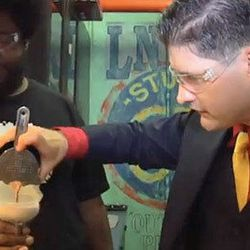 """<a href=""""http://eater.com/archives/2012/11/30/watch-dave-arnold-make-questlove-a-bitch-drink.php"""">Watch Dave Arnold Make Questlove a 'Bitch Drink'</a>"""