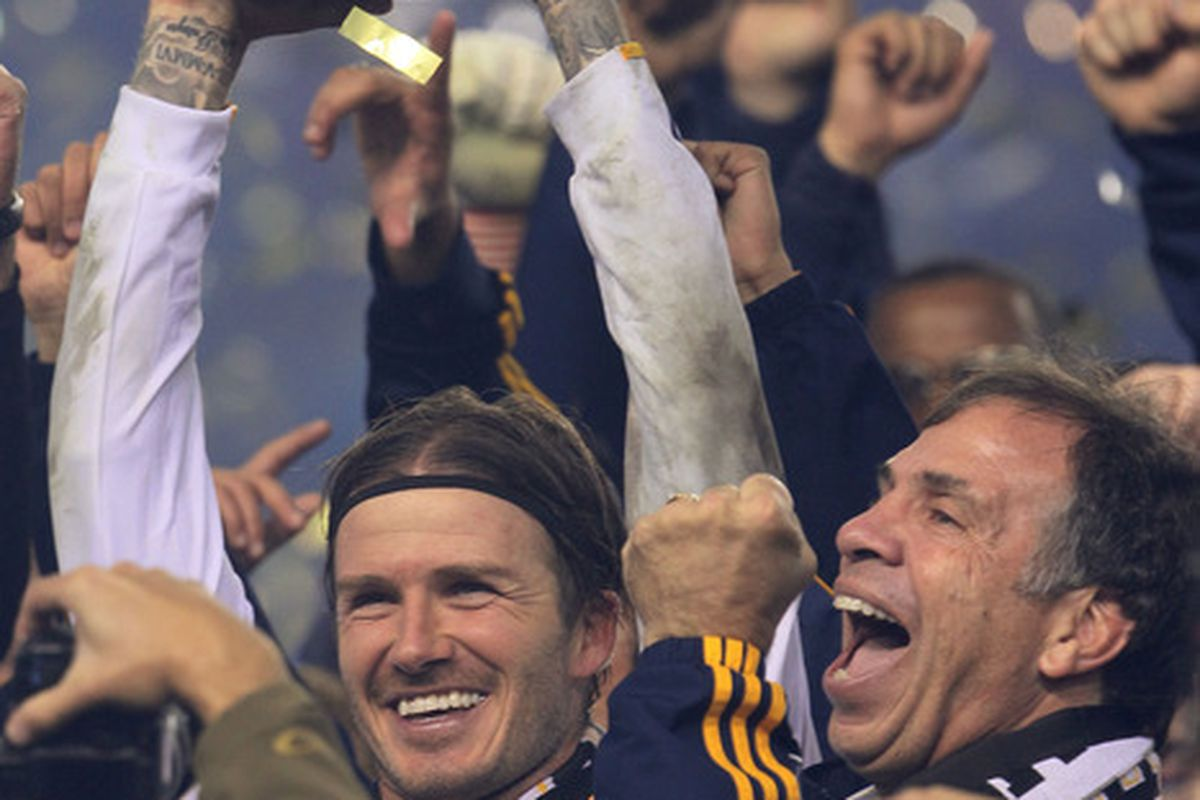 Will David Beckham's LA Galaxy be able to repeat as MLS Cup champs? We don't think so.