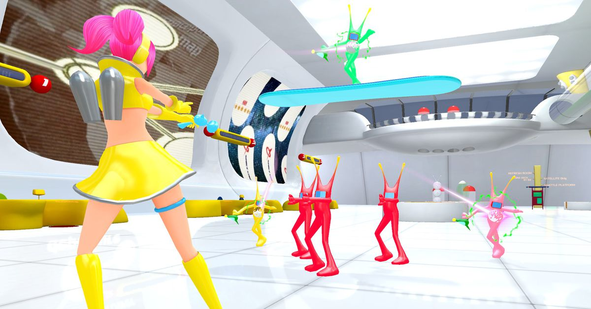 Hatsune Miku is coming to the new Space Channel 5
