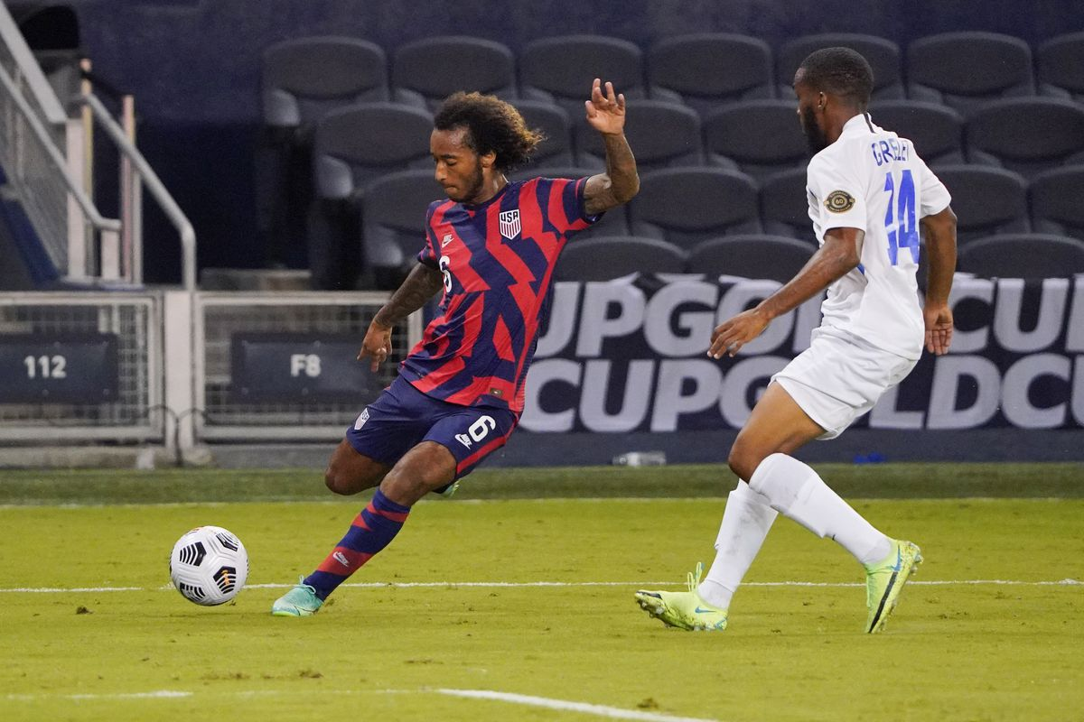 Soccer: CONCACAF Gold Cup Soccer-Martinique at USA