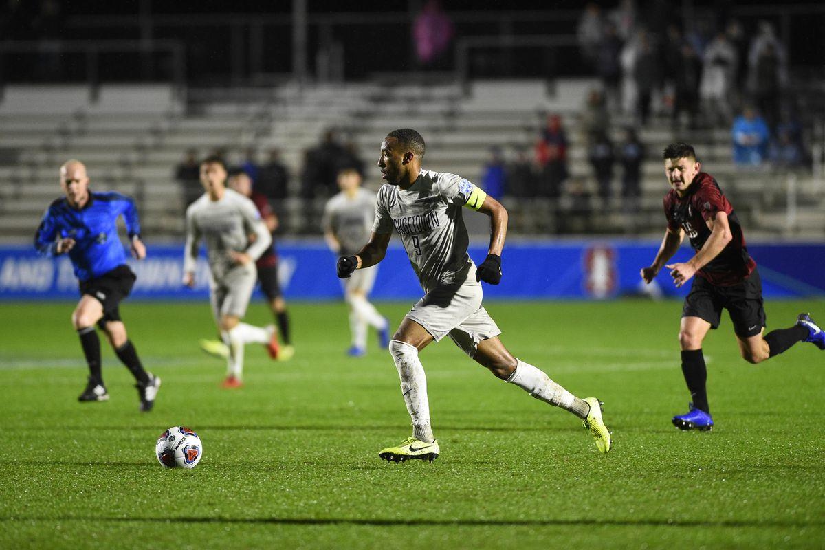 NCAA Soccer: Dl Men's College Cup-Georgetown vs Stanford