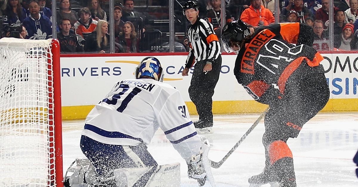 Recap: Maple Leafs beat the Flyers in an 11-round shootout - Pension Plan Puppets