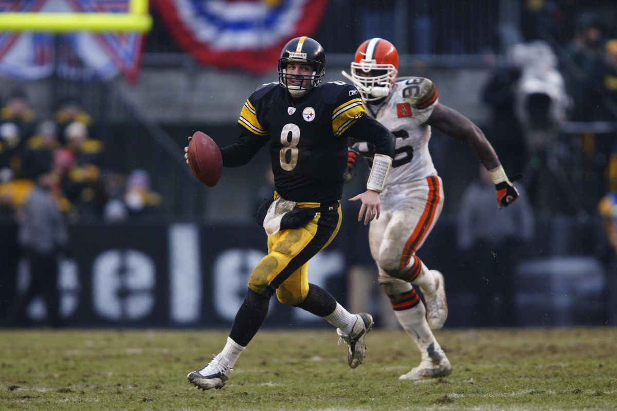 b736a3de1 Steelers Throwback Thursday: Besting the Browns in the snow - Behind ...