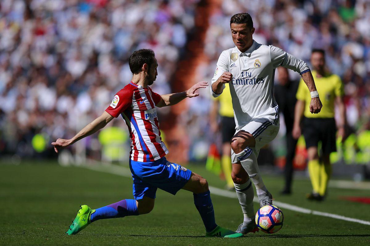 Real Madrid Vs. Atlético Madrid, 2017 Champions League