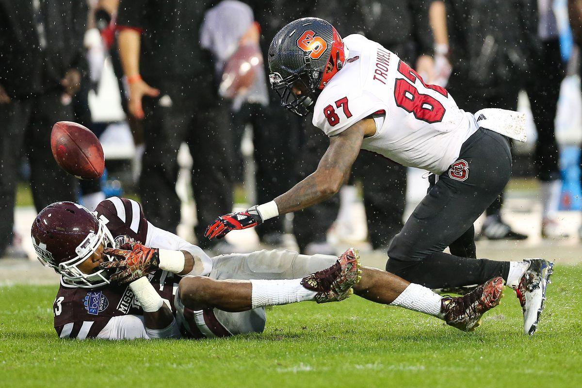 NCAA FOOTBALL: DEC 30 Belk Bowl - NC State v Mississippi State