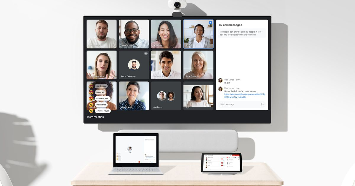 Google Workspace picks up new features designed for remote work