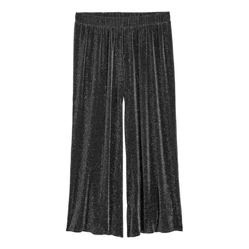 H&M Plus Glittery Culottes
