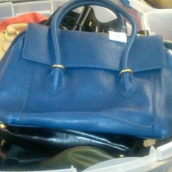 Large leather bags, $120