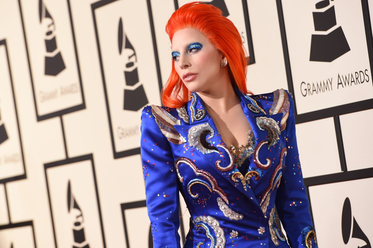 bd67c4afd2bb Lady Gaga s Grammys Outfit Was a Tribute to David Bowie - Racked