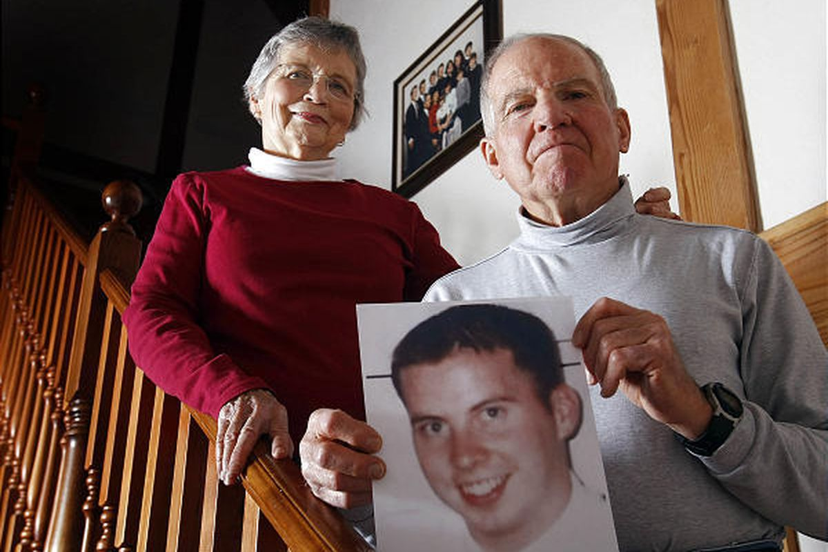 Kathleen and Roy Sneddon of Providence, Cache County, retraced their son's steps after he disappeared in Shangri-La, China, in 2004.