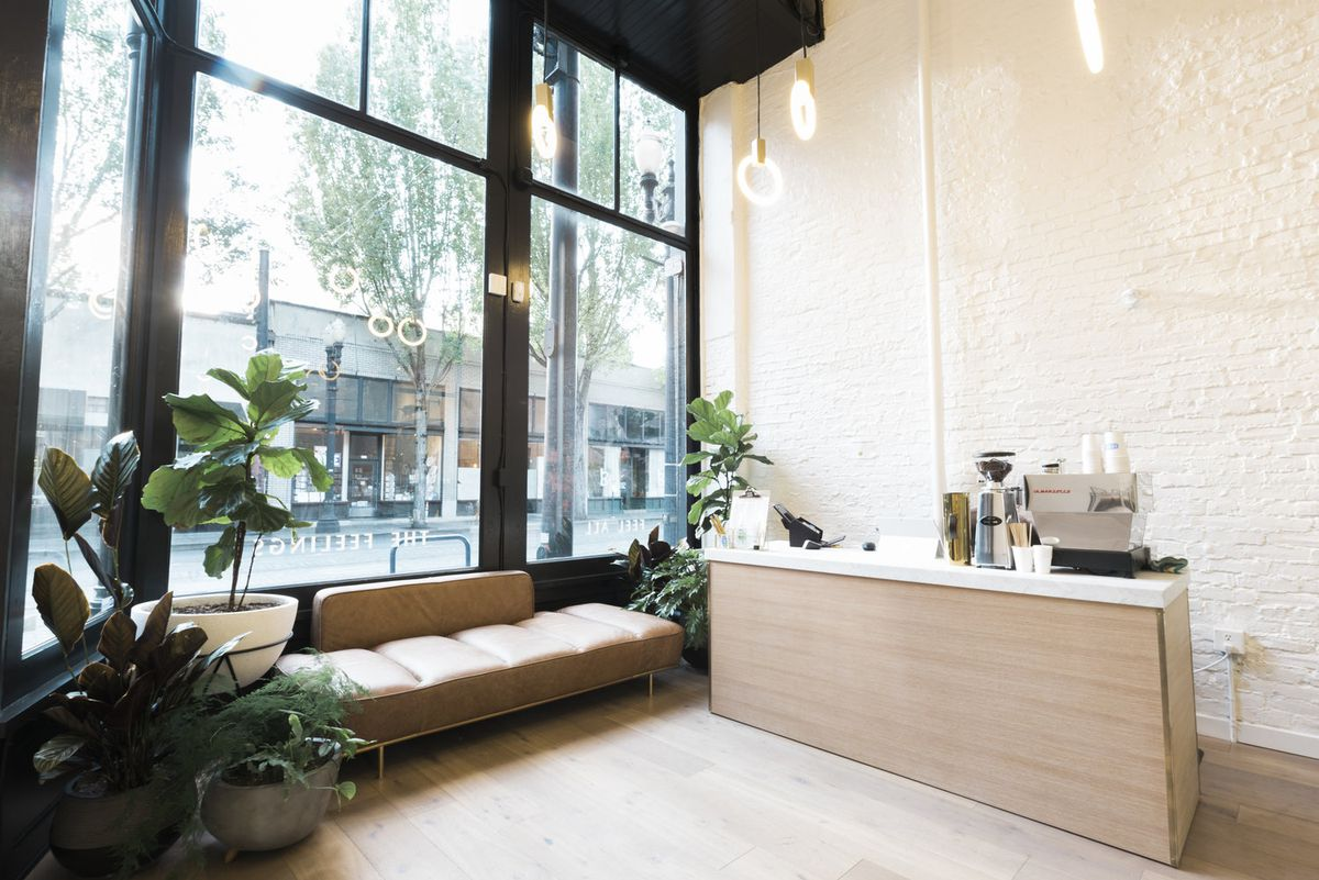 Marijuana dispensary goes minimalist in Portland - Curbed