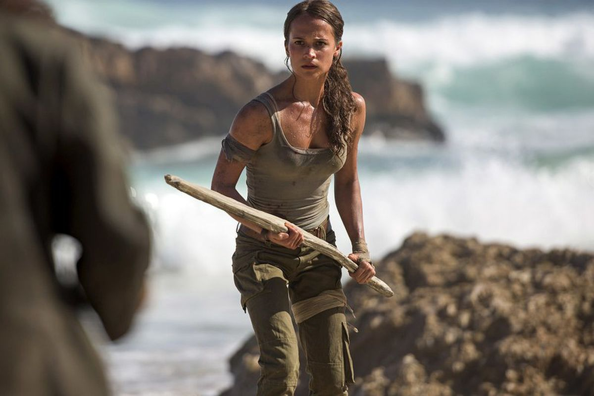 Alicia Vikander S Lara Croft Looks Just Like The New Tomb Raider