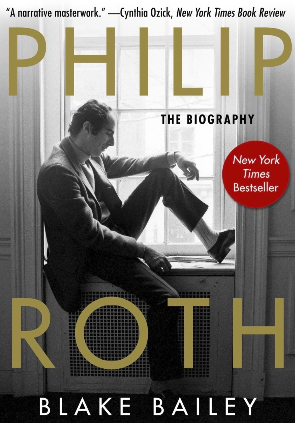 """This paperback cover image released by Skyhorse Publishing shows """"Philip Roth: The Biography,"""" by Blake Bailey. The long-awaited book about Roth that was pulled last month by original publisher W. W. Norton amid allegations of sexual assault and harassment against biographer Blake Bailey has a new publisher."""