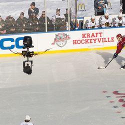 Carlson Kraft Hockeyville Shot