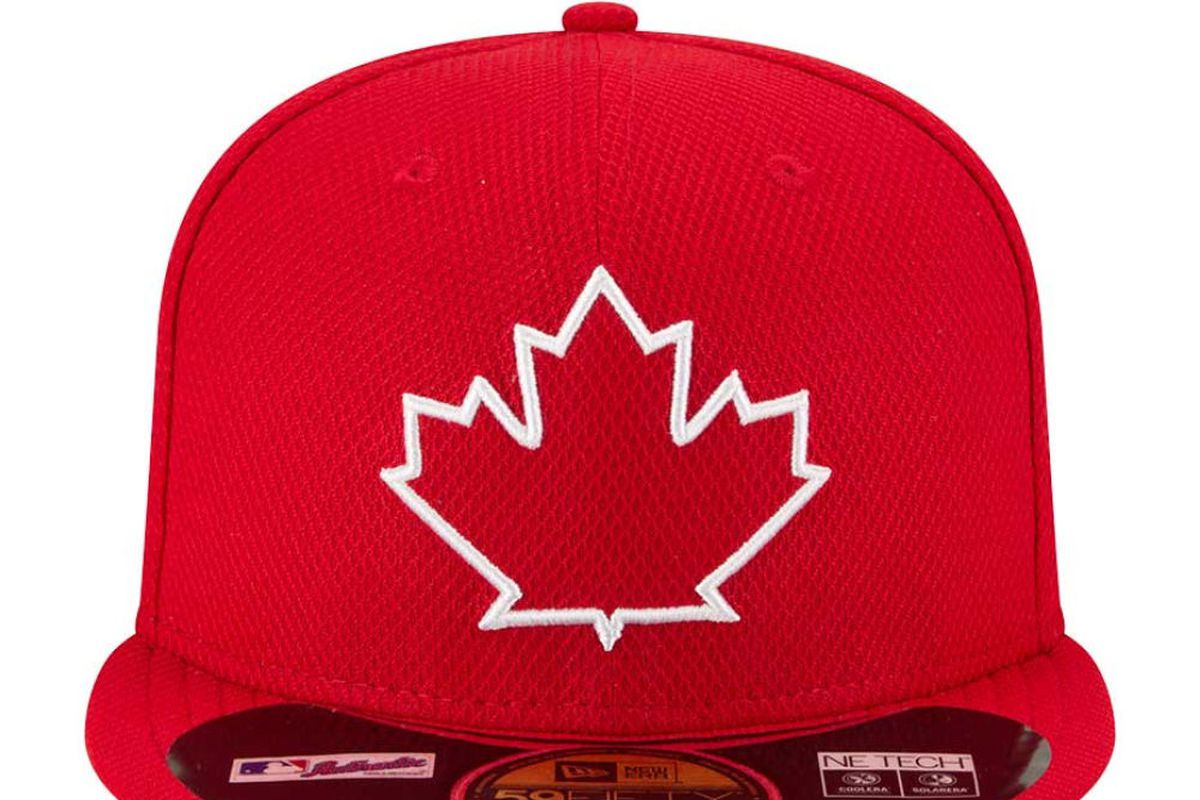 fbee38d03a9 New Blue Jays batting practice cap just as horrible as expected ...